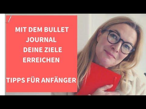 Bullet Journal, Um Deine Ziele Zu Erreichen /Tipps Für Anfänger & Minimalisten (deutsch)