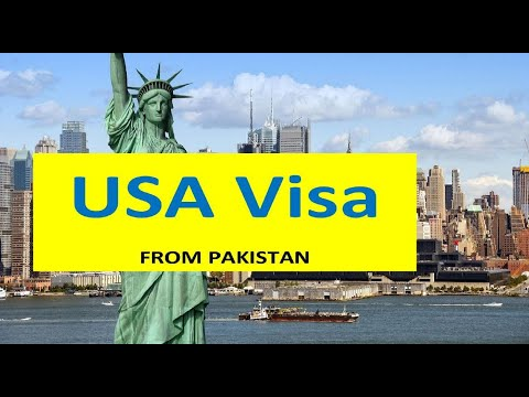 visa application for pakistan from usa