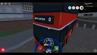 Roblox New MTG Driving a Enviro 400H City MTG CITYBUS to Downing Square next to Wolfmill Station