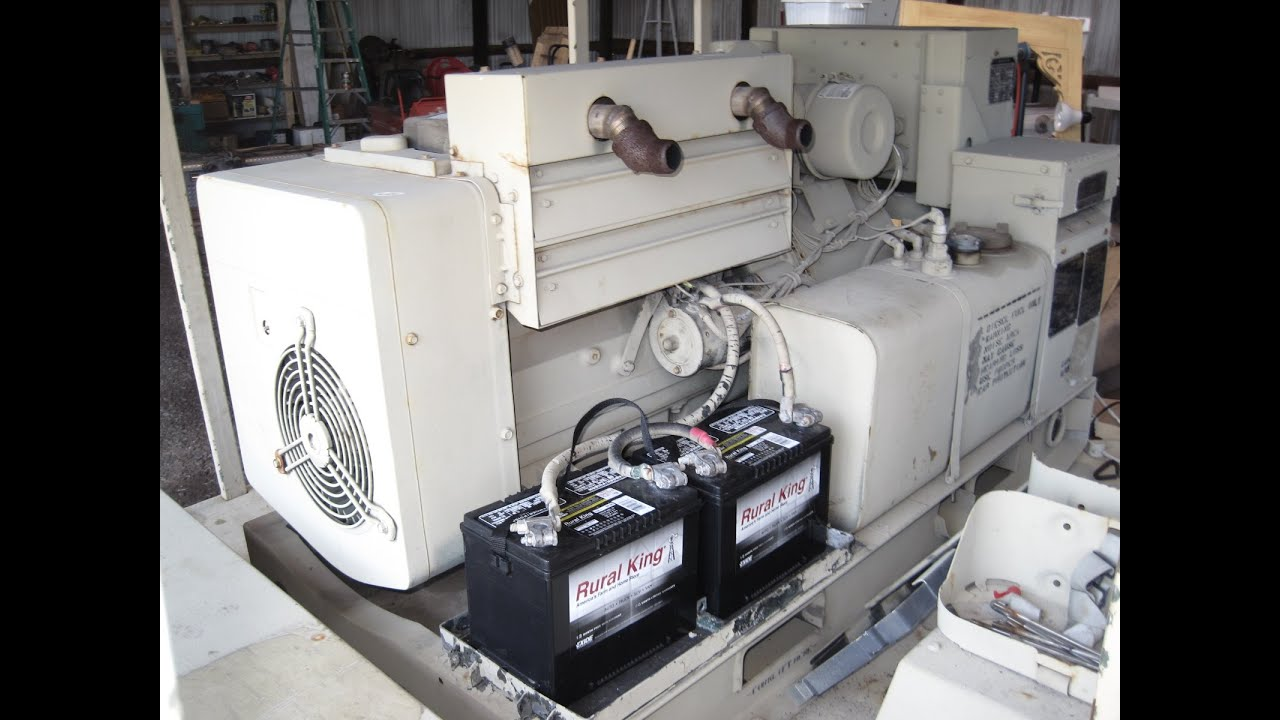 NEW NOS an MEP 0003A 10KW Military Diesel Generator Runs on