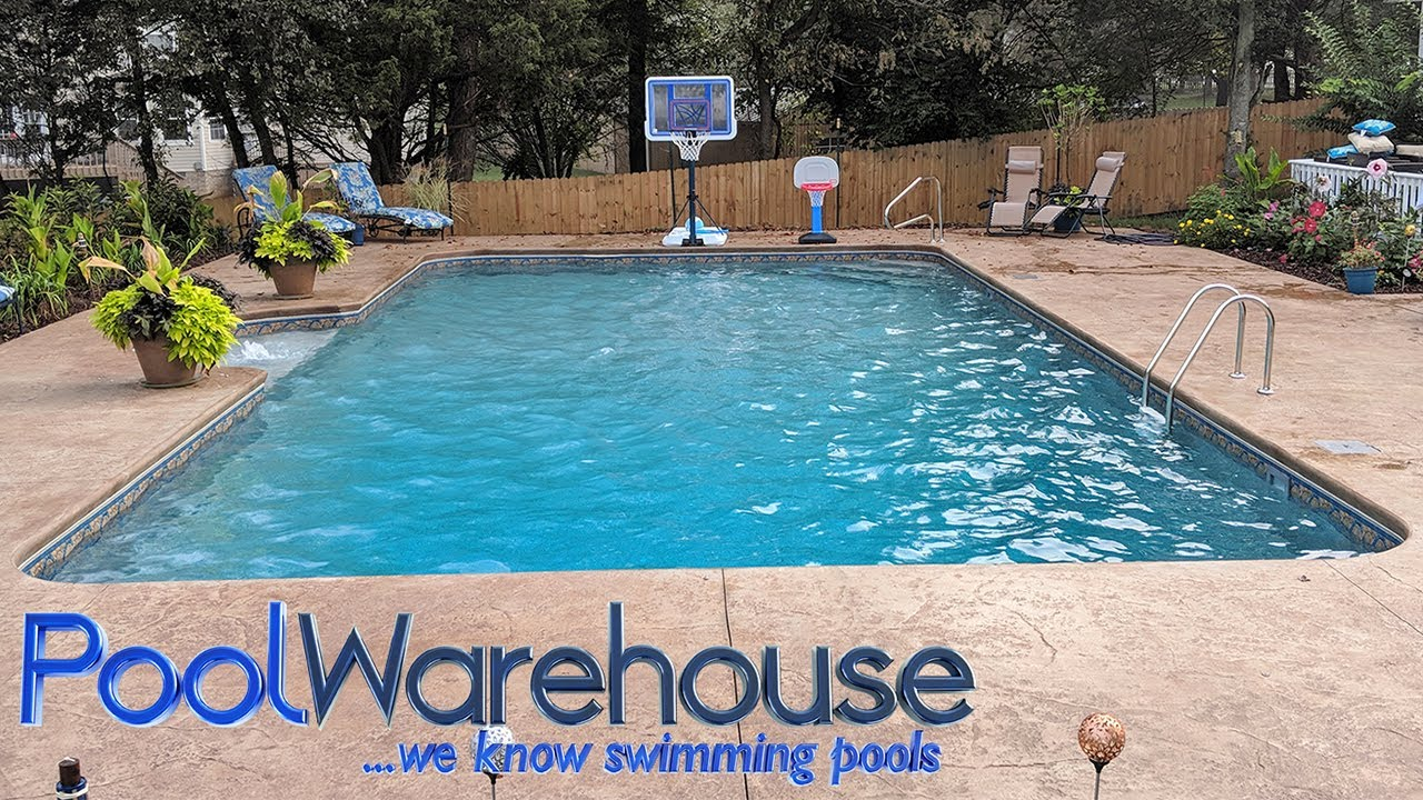 Rectangle Swimming Pool Kit From Pool Warehouse!