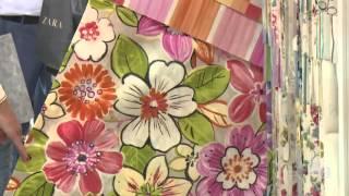 видео Мебельные обивочные ткани в Москве оптом и в розницу