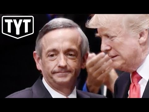"Trump Welcomes Pastor Who Says ""Jews Go To Hell"""