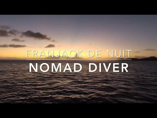 Où plonger de nuit en Guadeloupe ? Nomad Diver Franjack