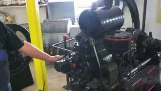 102 year old Kerosene-petrol engine start-up - Deutz-Otto motor