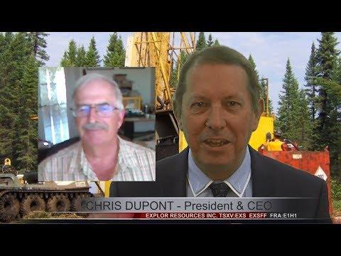 Explor Resources Inc. (CVE:EXS) President Chris Dupont on Recent Drilling at Timmins