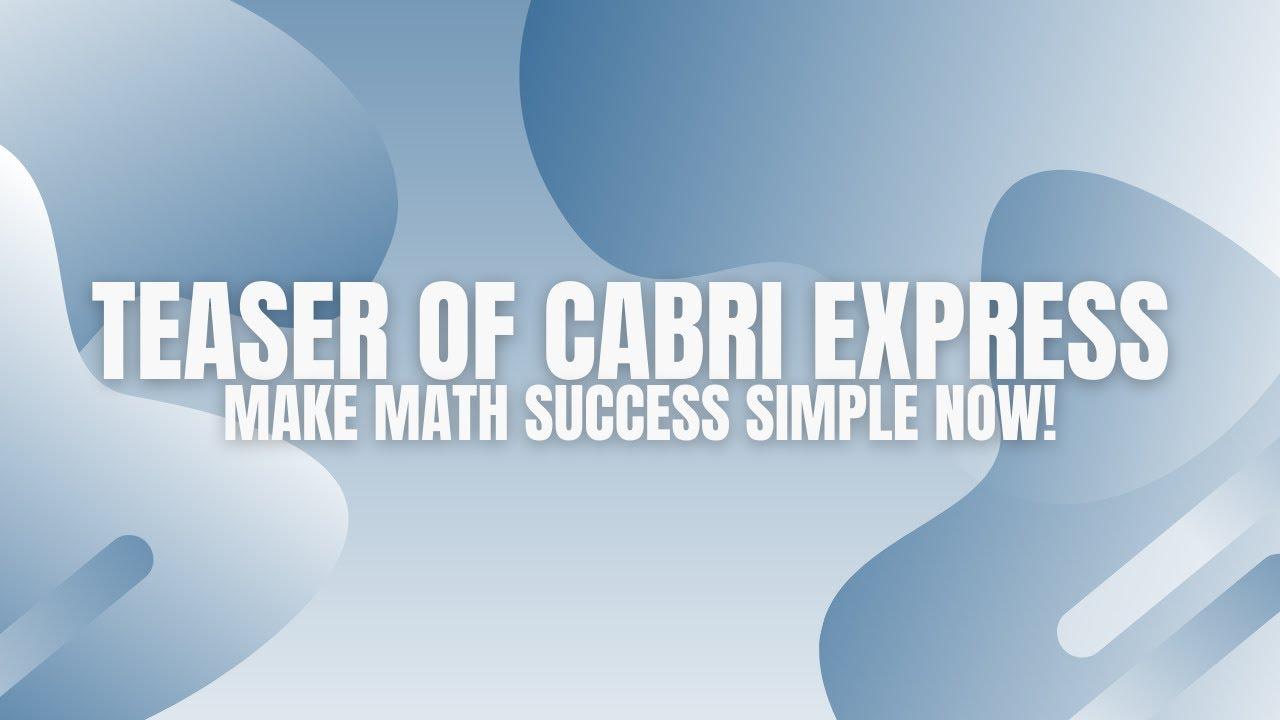 cabri math