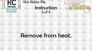 Vivs Raisin Pie - Kitchen Cat