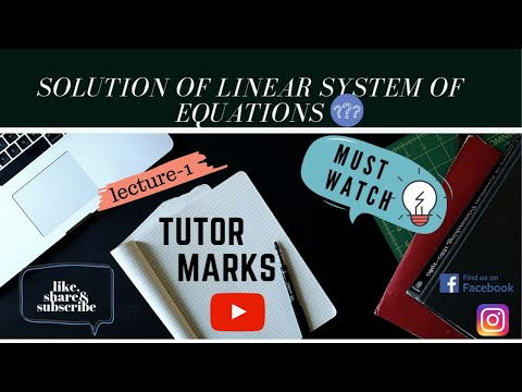 Solution Of Linear System Of Equations In Hindi    Matrices    Engineering Mathematics    M-1