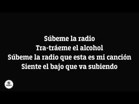 Subeme la Radio Enrique Iglesias ft Descender Bueno, Zion & Lennox (lyrics) (letra) download Karaoke