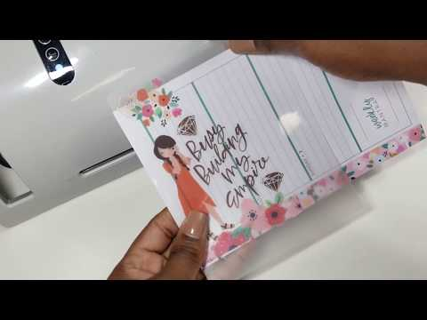 DIY Happy Planner Page Markers  - Part 2