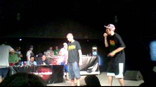 SWEET VS ACKTIV SEMIFINÁLE FREESTYLE BATTLE HIPHOP JAM 2011