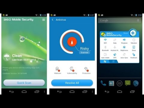 Top 5 Free Anti-Virus for Android Phone 100% works - YouTube