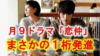 福士蒼汰、本田翼のフジテレビ月9ドラマ「恋仲」 7月20日にスタートしたドラマ「恋仲」ですが、初回の平均視聴率は9・8%。数々のヒット作を生み出した、フジテレビの看板 ...