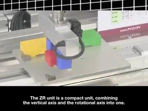 ZR Unit With A Long Stroke Gripper