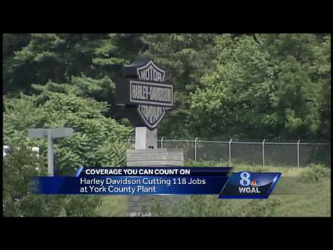 Harley-Davidson laying off workers at York County plant