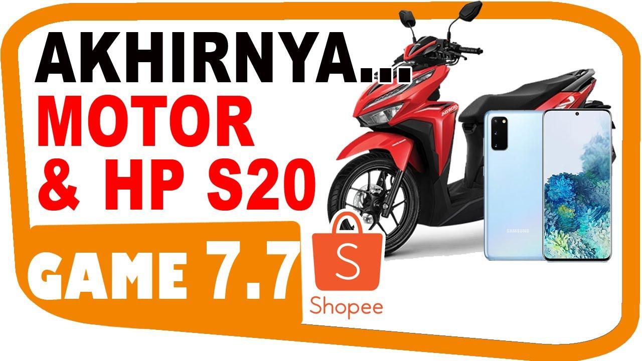 Main Shopee Games sampai Menang Motor & HP - Shopee Capit - Shopee Potong - Shopee Lempar