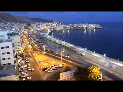 Time-Lapse Video Of Al-Mukalla City in Yemen مدينة المكلا - اليمن -