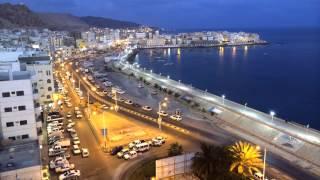 Time-Lapse Video Of Al-Mukalla City in Yemen مدينة المكلا - اليمن -