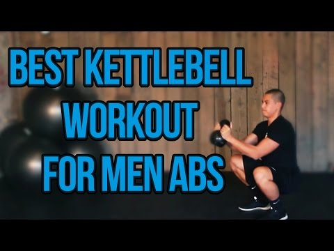 Awesome Abs Kettlebell Workout For Men | Men Kettlebell Workout for Strengthening Core