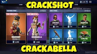 NEW FEMALE CRACKSHOT 'CRACKABELLA' + CRACKSHOT: Fortnite Item Shop