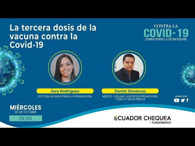 La tercera dosis de la vacuna contra la COVID-19