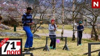71° nord   Aurelius, Anja og Tamara er i første utslagskonkurranse   TVNorge
