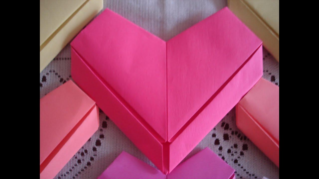 Resultado de imagem para coração de origami