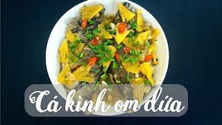 Cách nấu cá kình (cá dìa) kho dứa chua ngọt, đậm đà những ngày mưa
