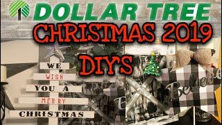 DOLLAR TREE DIY'S | DOLLAR TREE CHRISTMAS 2019 DIY'S