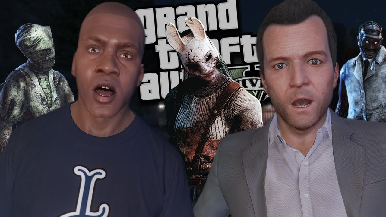 THE ULTIMATE HAUNTED HOUSE MOD (GTA 5 PC Mods Gameplay) thumbnail