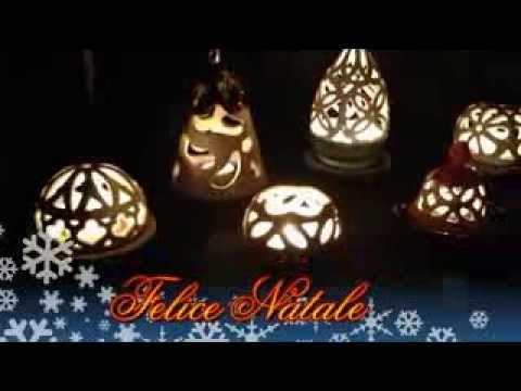 Lampade In Ceramica Di Vietri.Le Ceramiche Di Vietri Kaleidos Lampade Natalizie Youtube