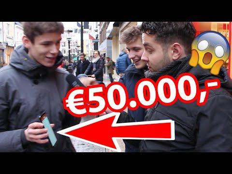 €50.000 OP REKENING!? HOEVEEL GELD HEB JIJ OP JE REKENING?