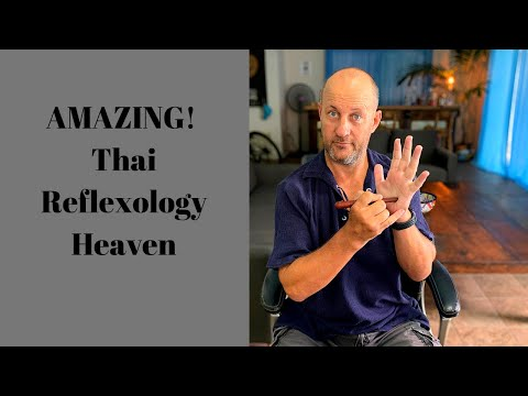 Thai hand reflexology techniques.