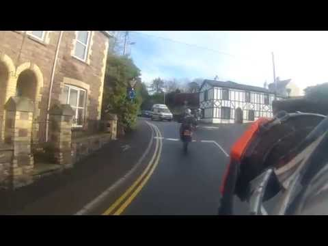 A Ride Through Abergavenny in Monmouthshire