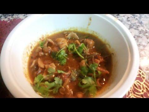 Kadai Kanava Fish / கடாய் கனவாய் மீன் ஆணம் / Cuttle fish curry