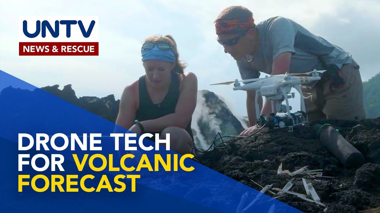 New Drone Technology improves ability to forecast Volcanic Eruptions