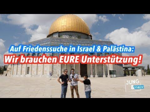 Bitte unterstützt unsere Interview-Serie in Israel/Palästina & werdet Produzenten!