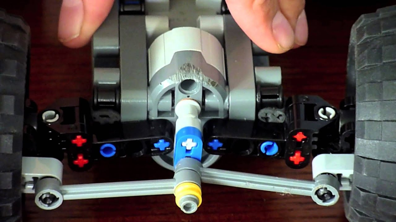 Simple Amp Compact Lego Independent Suspension With Servo