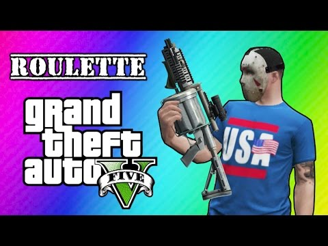 GTA 5 Online: Car Roulette (Grenade Launcher Glitch Mini Game) - VanossGaming  - ULNUFqhXRR0 -