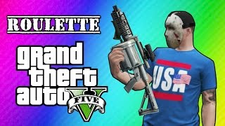 GTA 5 Online: Car Roulette (Grenade Launcher Glitch Mini Game)(NEW Vanoss Shirts & Merch HERE: http://bit.ly/1SnwqxY New Instagram Page! - http://instagram.com/vanossinstagram Friends in the vid: H2O Delirious ..., 2014-07-26T00:00:01.000Z)