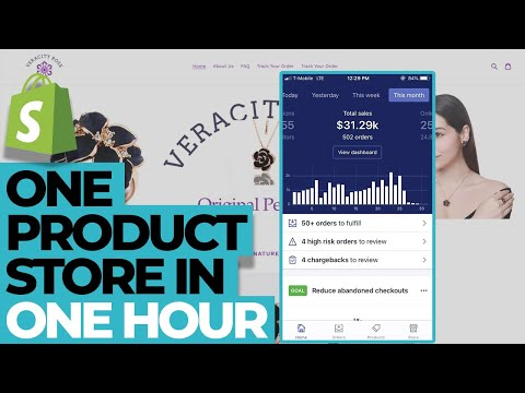 free-course-|-one-product-dropshipping-store-on-shopify-in-2020