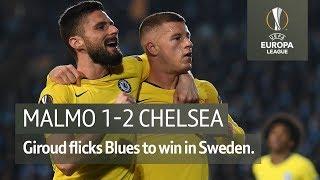 Malmo vs Chelsea (1-2) | UEFA Europa League Highlights