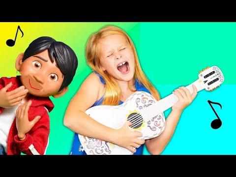 COCO  Pixar Assistant Helps Miguel With Ernesto Guitar
