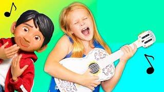 COCO Disney Pixar Assistant Helps Miguel With Ernesto Guitar