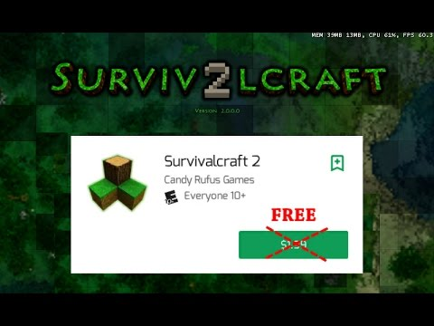 How to download survivalcraft 2 free %100 working (android) youtube.