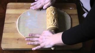 Видео-урок # 2. Как из обычного теста сделать печенье с красивым узором