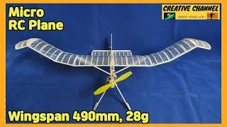 28g, Micro RC Plane 만들기
