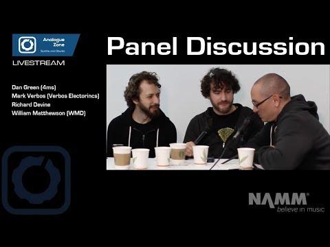 NAMM2018: LIVESTREAM Talk by Mark Verbos, William Matthewson, Dan Green and Richard Devine