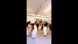 Stoke on Trent Hindu Samajam ONAM 2014   Thiruvathura   Parvanendu Mukhi
